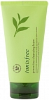 Innisfree~Пенка для деликатного очищения с экстрактом зеленого чая~Green Tea Cleansing Foam