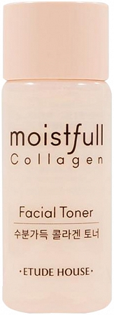 ETUDE HOUSE~Увлажняющий тоник c коллагеном, 15 мл~Moistfull Collagen Toner