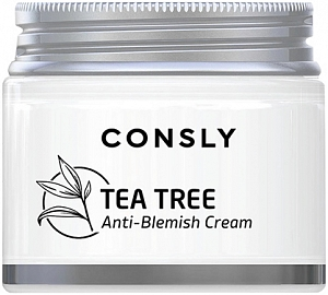 Consly~Крем для проблемной кожи с экстрактом чайного дерева~Tea Tree Anti-Blemish Cream