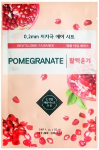 ETUDE HOUSE~Маска тканевая с экстрактом граната~0.2mm Therapy Air Mask Pomegranate